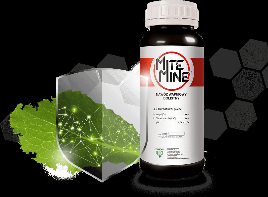 Mitemine<sup>®</sup>. Nawóz wapniowy dolistny